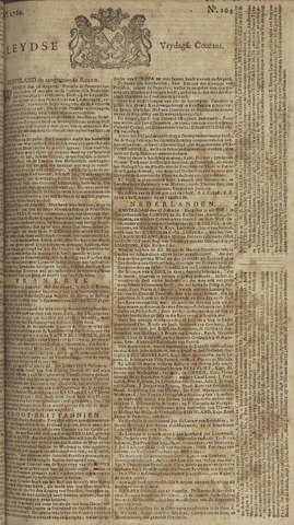Leydse Courant 1760-08-29