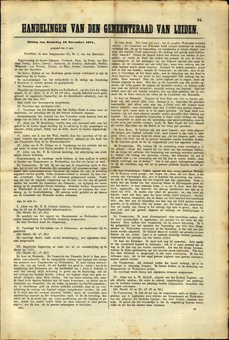 Handelingen van de Raad 1871-11-18