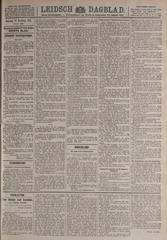 Leidsch Dagblad 1919-11-24