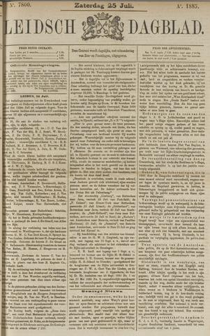 Leidsch Dagblad 1885-07-25