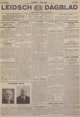 Leidsch Dagblad 1930-04-07