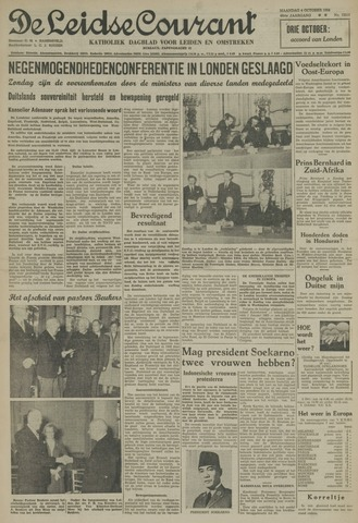 Leidse Courant 1954-10-04