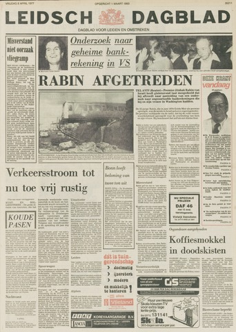 Leidsch Dagblad 1977-04-08