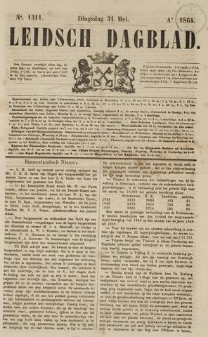 Leidsch Dagblad 1864-05-31