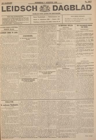 Leidsch Dagblad 1928-08-02