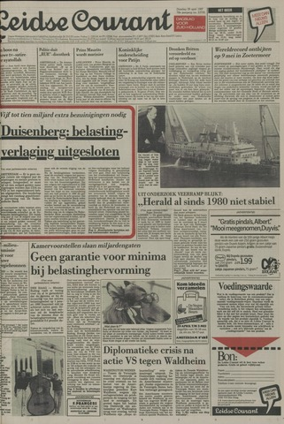 Leidse Courant 1987-04-28