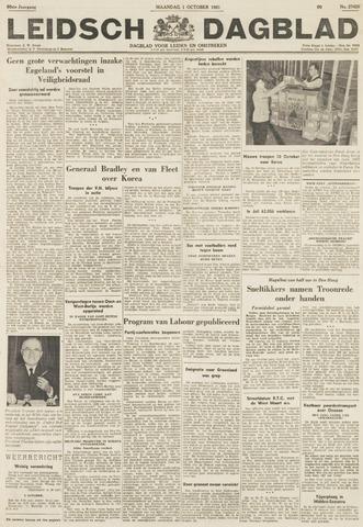Leidsch Dagblad 1951-10-01