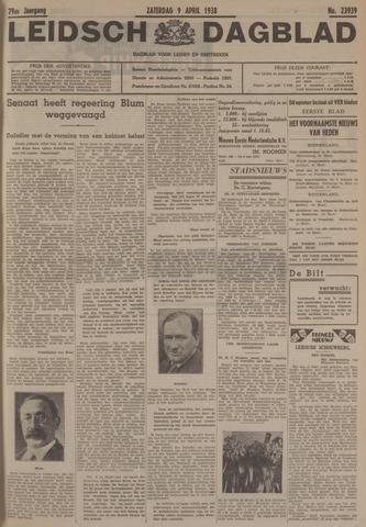Leidsch Dagblad 1938-04-09