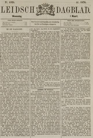 Leidsch Dagblad 1876-03-01