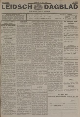 Leidsch Dagblad 1935-07-23