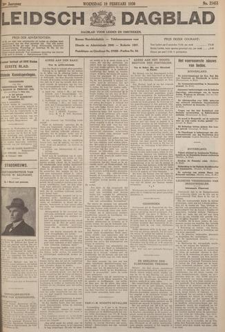 Leidsch Dagblad 1930-02-19