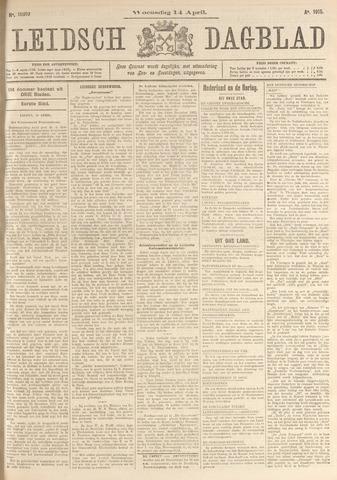 Leidsch Dagblad 1915-04-14