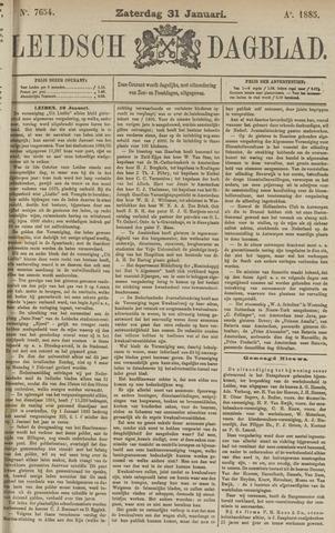 Leidsch Dagblad 1885-01-31