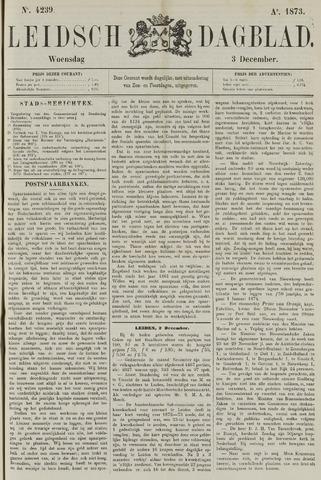 Leidsch Dagblad 1873-12-03