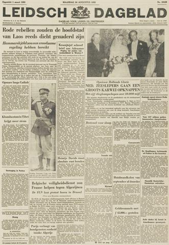 Leidsch Dagblad 1959-08-24
