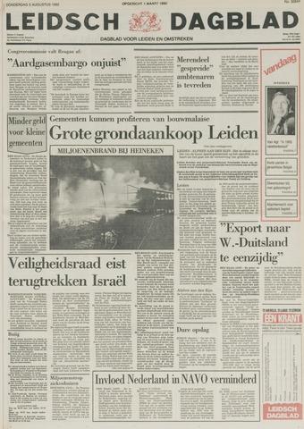 Leidsch Dagblad 1982-08-05