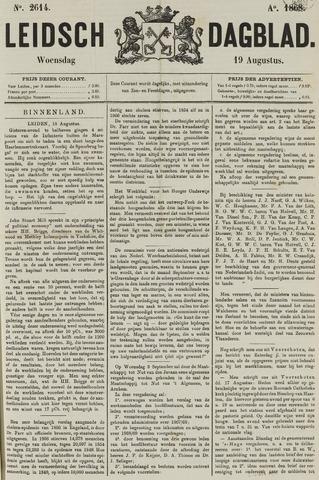 Leidsch Dagblad 1868-08-19