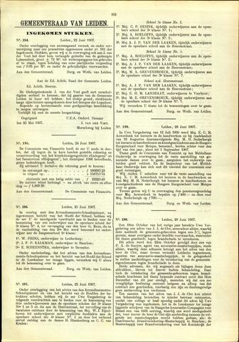 Handelingen van de Raad 1907-06-22