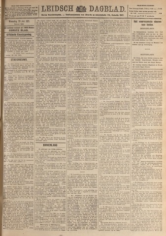 Leidsch Dagblad 1921-07-20