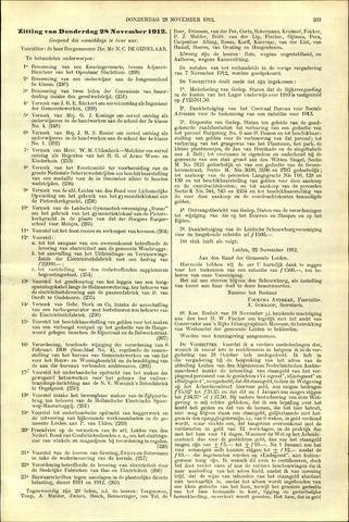 Handelingen van de Raad 1912-11-28