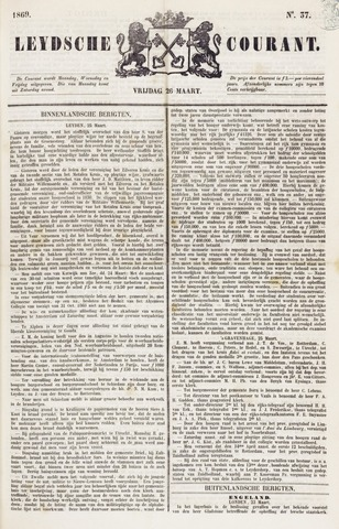 Leydse Courant 1869-03-26