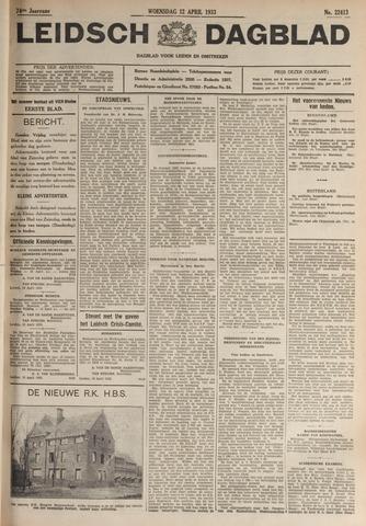 Leidsch Dagblad 1933-04-12