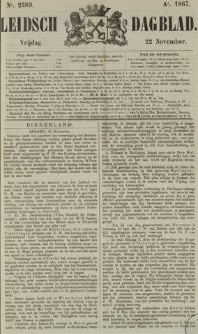 Leidsch Dagblad 1867-11-22