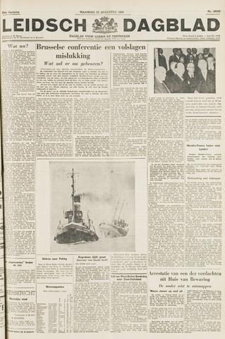 Leidsch Dagblad 1954-08-23