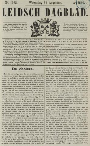 Leidsch Dagblad 1866-08-15