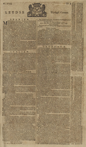 Leydse Courant 1754-01-18