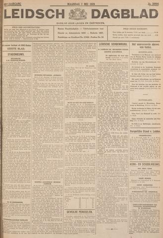 Leidsch Dagblad 1928-05-07