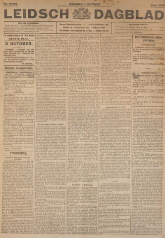 Leidsch Dagblad 1923-10-01