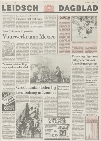 Leidsch Dagblad 1988-12-12