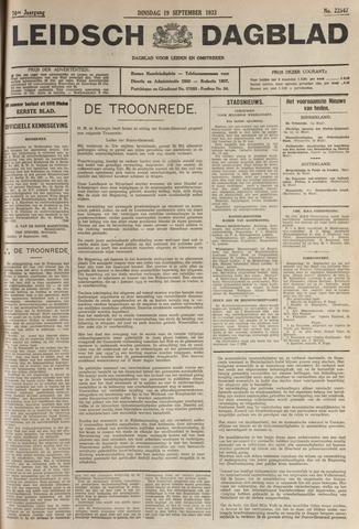 Leidsch Dagblad 1933-09-19