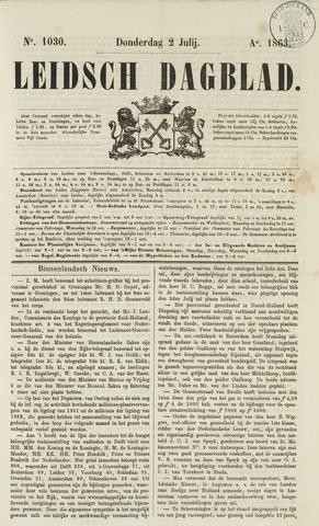 Leidsch Dagblad 1863-07-02