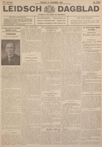 Leidsch Dagblad 1930-11-21