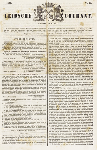 Leydse Courant 1871-03-10