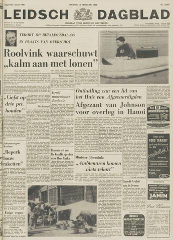 Leidsch Dagblad 1968-02-13