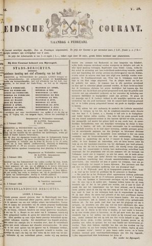 Leydse Courant 1884-02-04