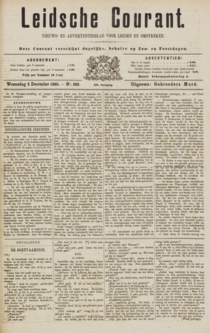 Leydse Courant 1885-12-02