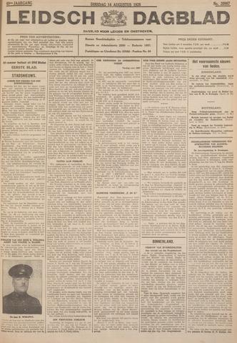 Leidsch Dagblad 1928-08-14