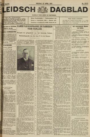 Leidsch Dagblad 1932-04-22