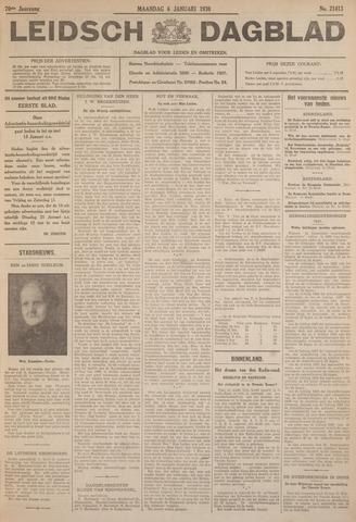 Leidsch Dagblad 1930-01-06