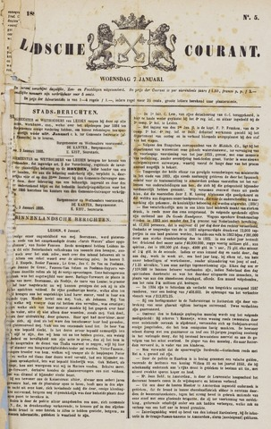 Leydse Courant 1885-01-07
