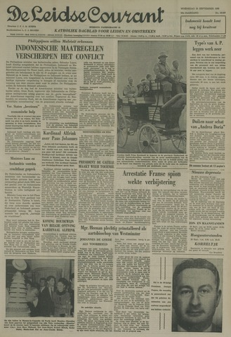 Leidse Courant 1963-09-25