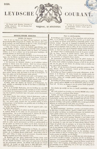 Leydse Courant 1850-08-23
