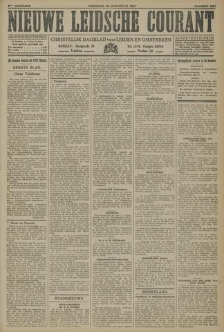 Nieuwe Leidsche Courant 1927-08-22
