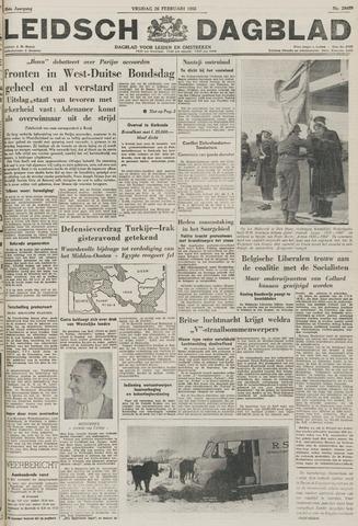 Leidsch Dagblad 1955-02-25
