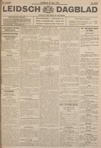 Leidsch Dagblad 1930-07-19