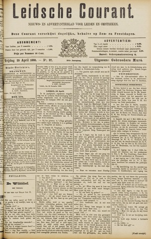 Leydse Courant 1890-04-25